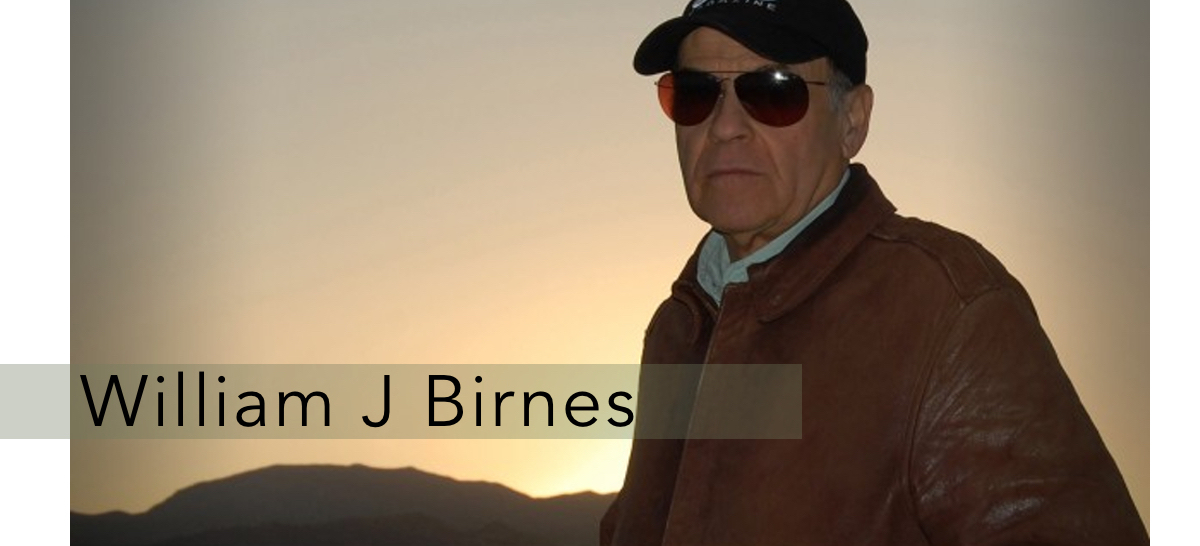 Photo of William J. Birnes from the UFO Hunters series.